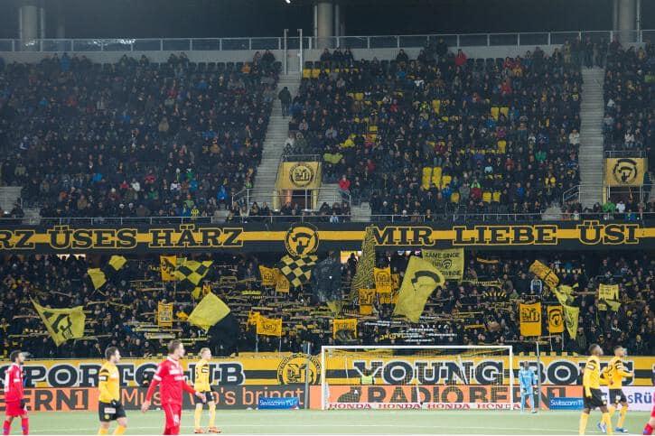 Fotos YB – FC Sion