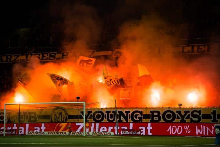Fotos YB – FC St. Gallen