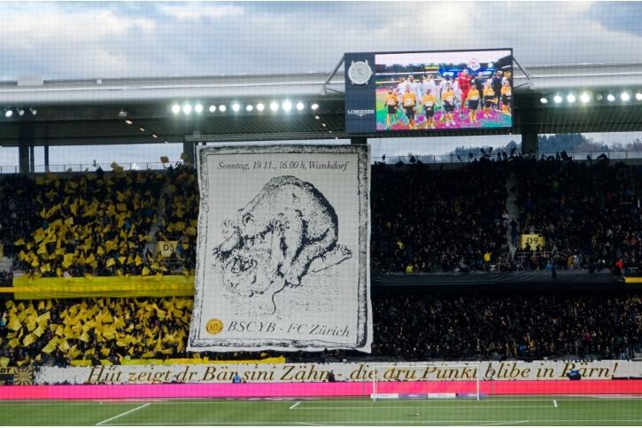 Fotos YB – FC Zürich
