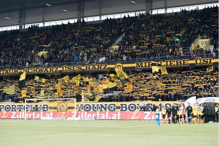 Fotos YB – FC Thun