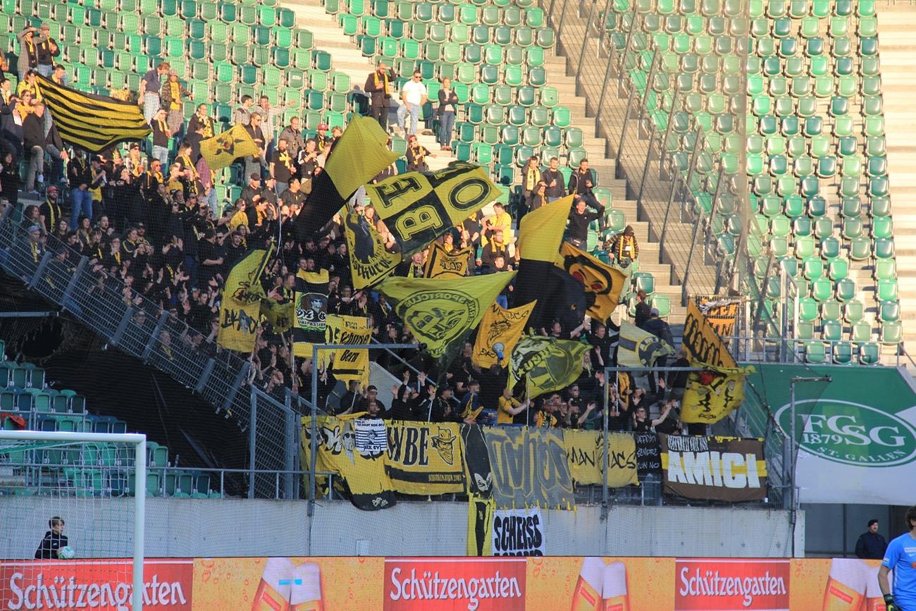 Fotos FC St. Gallen – BSC YB