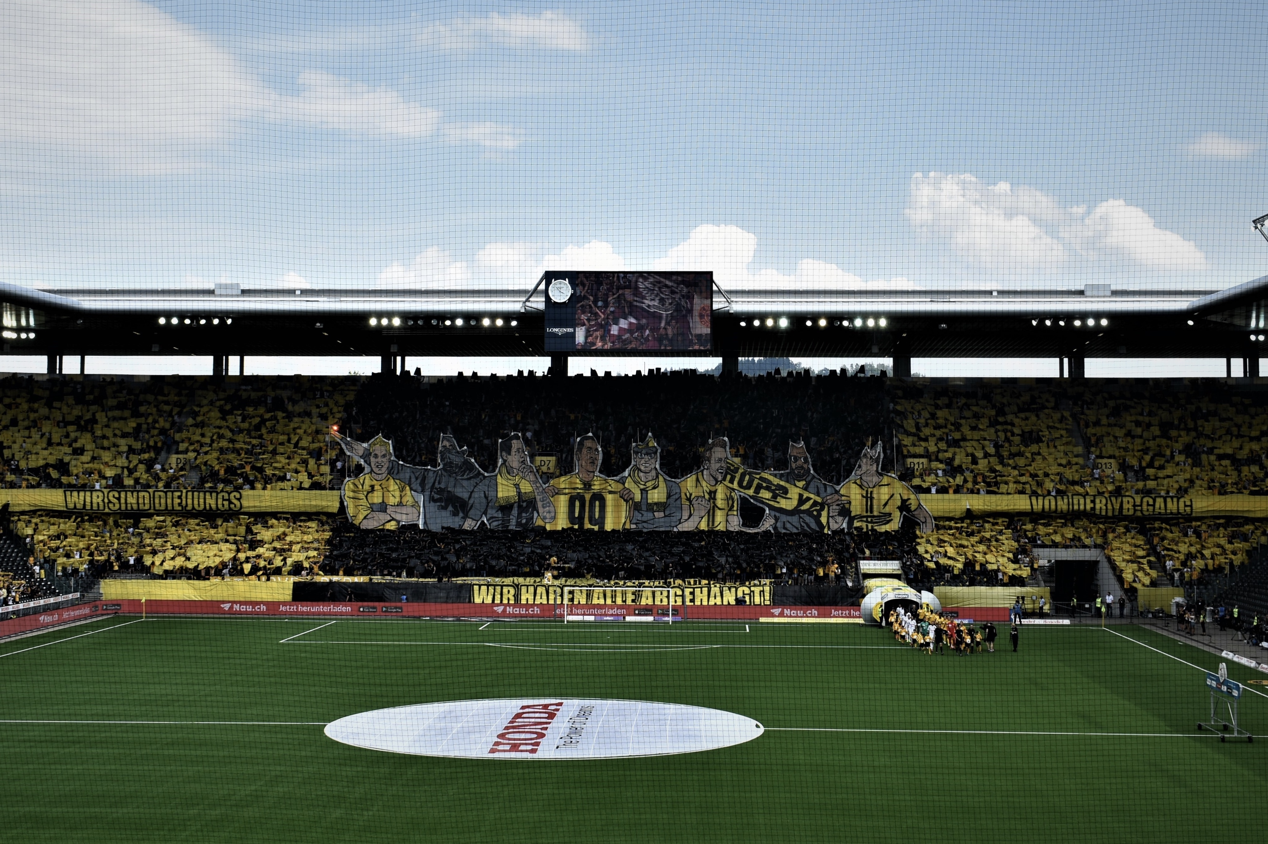 Fotos BSC YB – Servette FC