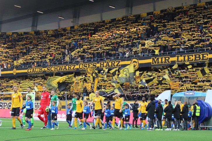 Fotos BSC YB – FC St. Gallen